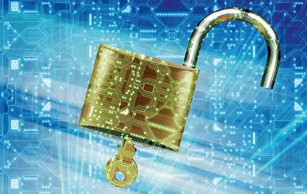 IT-Sicherheit Schloss Computer Updates