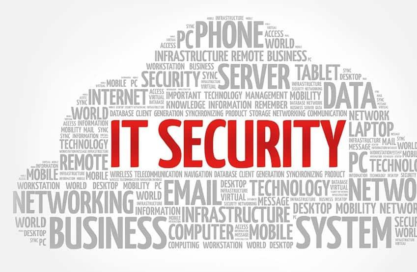 IT Computer Security Auflistung